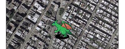 NYに怪獣現る!