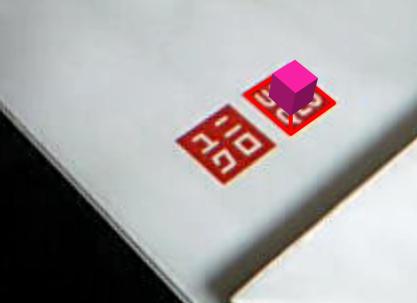ユニクロのロゴはマーカーになる。