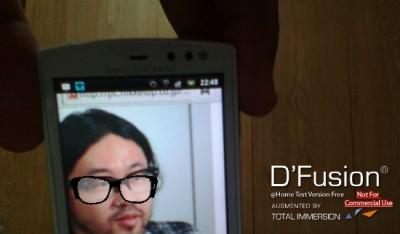 SATCHが日本語情報出してくれたので、改めてD'Fusion Studioにチャレンジして顔認識コンテンツをWebで公開!